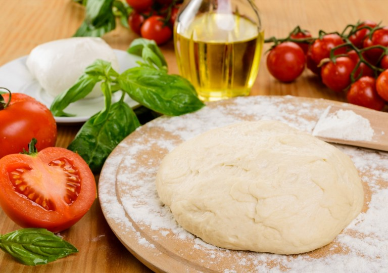 Impasto base per pizza