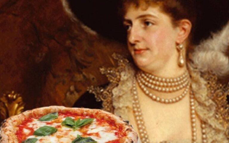 Comè nata la pizza margherita